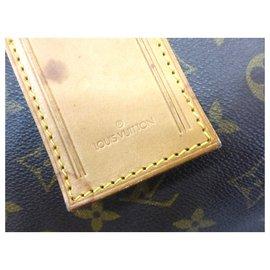 Louis Vuitton-KEEPALL 60 MONOGRAM-Marron