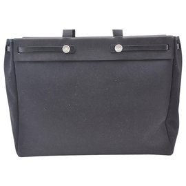 Hermès-Hermès Vintage Shoulder Bag-Black