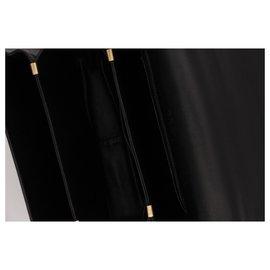 Céline-Rare Vintage CELINE Bag, Tryomphe model, CIRCA 1970,-Black