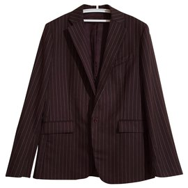 French Connection-Blazers Jackets-Brown,Multiple colors