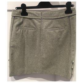 Chanel-Skirts-Grey