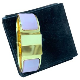 Hermès-Bracelet Clic d'Hermès-Rose