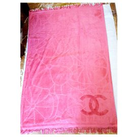 Chanel-new Chanel towel-Fuschia