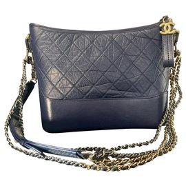 Chanel-Grand sac hobo GABRIELLE de CHANEL-Bleu