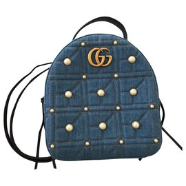 Gucci-Gucci backpack-Blue