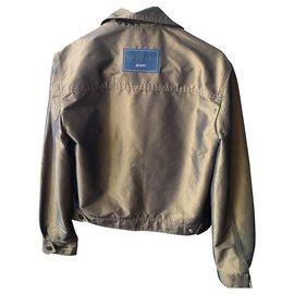 Yves Saint Laurent-Yves Saint Laurent Jacket-Bronze