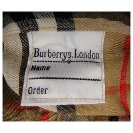 Burberry-raincoat woman Burberry vintage size 40-Beige
