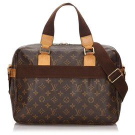 Louis Vuitton-Louis Vuitton Brown Monogram Sac Bosphore-Brown