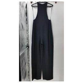 Céline-Jumpsuits-Black