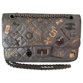 Chanel-2.55 lucky charm reissue-Navy blue