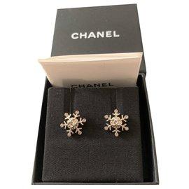 Chanel-Chanel earrings in New Star-Metallic