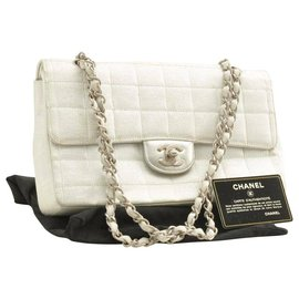 Chanel-Chanel Timeless/Classique-Silvery