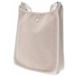 Hermès-Handbag-White