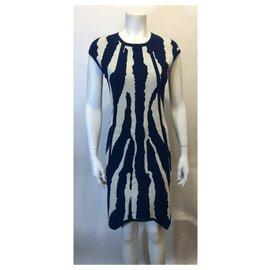 Fendi-robe-White,Blue