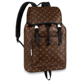 Louis Vuitton-Louis Vuitton Backpack Zack new-Brown