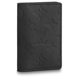 Louis Vuitton-Louis Vuitton mens wallet new-Black