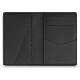 Louis Vuitton-Louis Vuitton pocket organiser new-Black