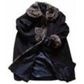 Autre Marque-Manteau (marque inconnue)-Marron foncé