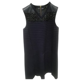 Louis Vuitton-Robes-Bleu Marine