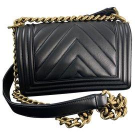Chanel-CHANEL BOY SMALL SIZE-Black