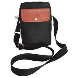 Longchamp-Bags Briefcases-Brown,Black