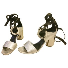 Proenza Schouler-sandals-Black,Silvery