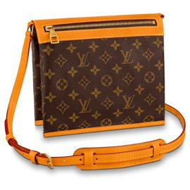 Louis Vuitton-Louis Vuitton messenger bag new-Brown