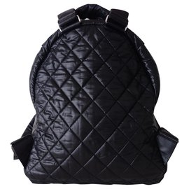 Chanel-CHANEL COCOON BACKPACK-Black
