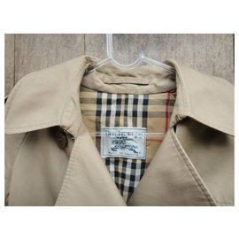 Burberry-vintage Burberry women's trench coat 36-Beige
