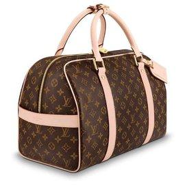 Louis Vuitton-Sac de voyage Louis Vuitton nouveau-Marron