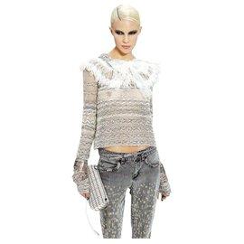Chanel-sweater-White,Grey