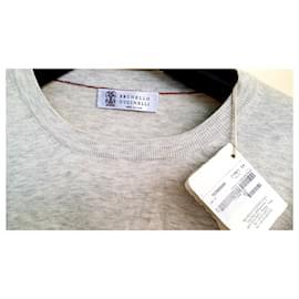 Brunello Cucinelli-Sweater-Grey