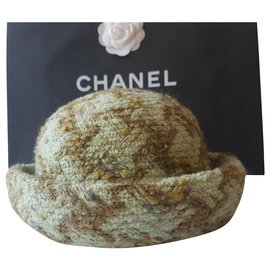 Chanel-Hats-Green