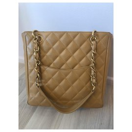 Chanel-Shopping-Beige