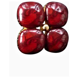 Yves Saint Laurent-Pins & brooches-Red
