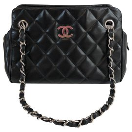 Chanel-Small shopping-Black
