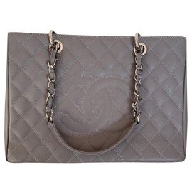 Chanel-Chanel big shopping-Grey
