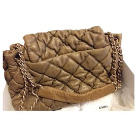 Chanel-bubble-Light brown