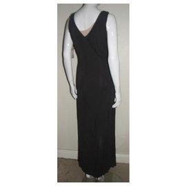 Halston Heritage-Smoke grey maxi dress-Grey