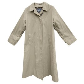 Burberry-raincoat woman Burberry vintage size 40 with removable wool lining-Khaki