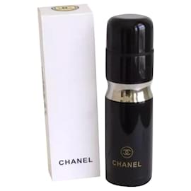 Chanel-CHANEL STAINLESS STEEL BLACK THERMOS TUMBLER-Black