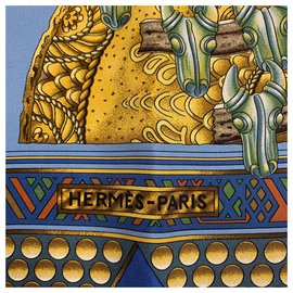 Hermès-Gold of the Chiefs-Blue