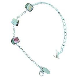 Louis Vuitton-Bracelet Vuitton-Argenté