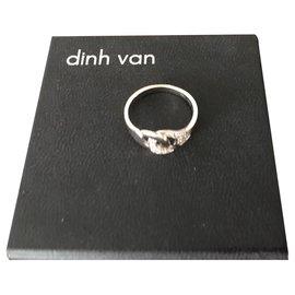 Dinh Van-cuffs-Silvery