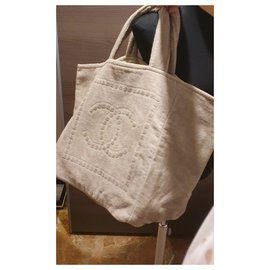 Chanel-New chanel tote-Beige
