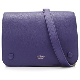Mulberry-Mulberry Blue Leather Crossbody Bag-Blue