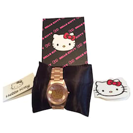 Victoria Couture-Hello kitty watch by Victoria Couture-Pink
