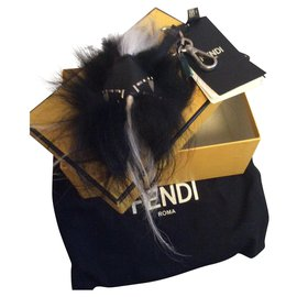 Fendi-Bag Bugs-Black