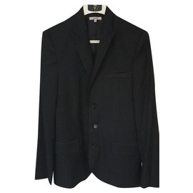 Jean Paul Gaultier-Gaultier Jacket Junior Size 16 ans-Black