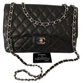 Chanel-Chanel Classic Jumbo-Black
